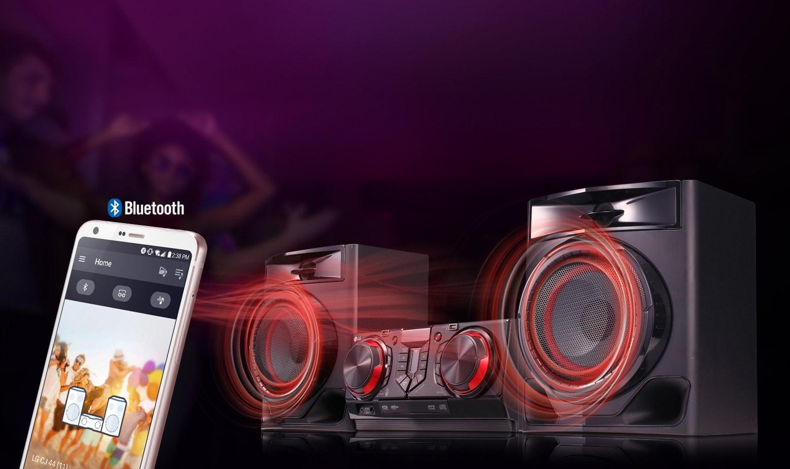 Application Bluetooth LG