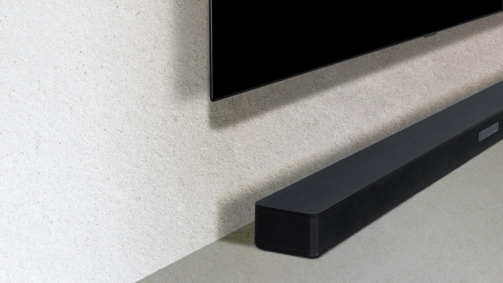 Un design qui s'intègre parfaitement au salon et au téléviseur