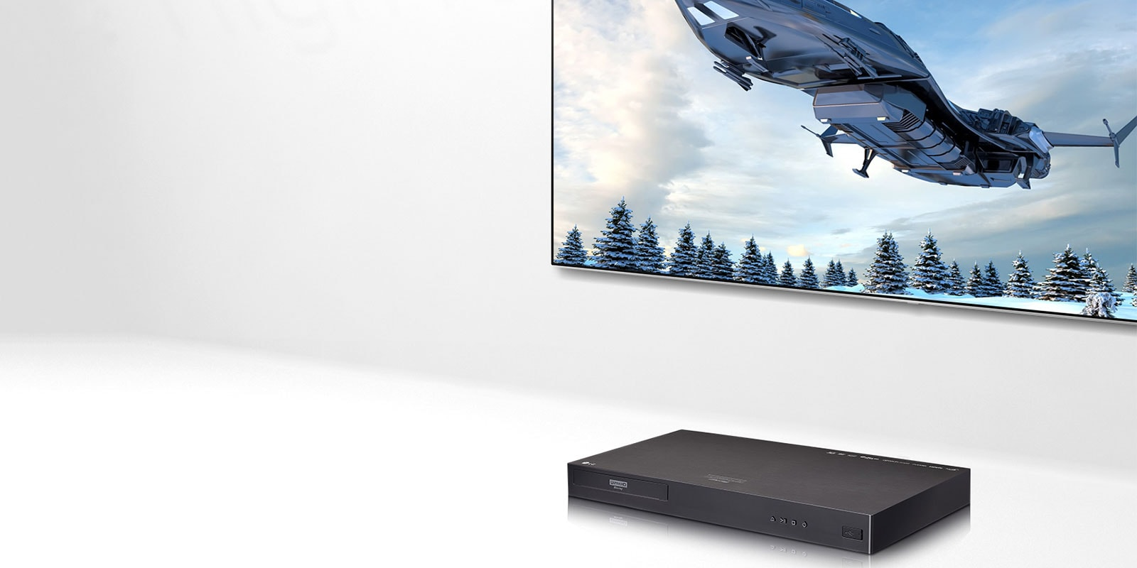 LG UP970, lecteur Blu-ray Ultra HD 4K