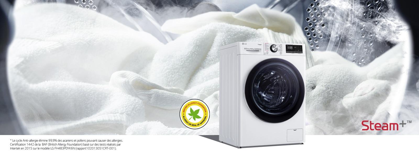 Lave Linge Couleur Gris lave-linge - machine à laver   electroménager lg   lg france
