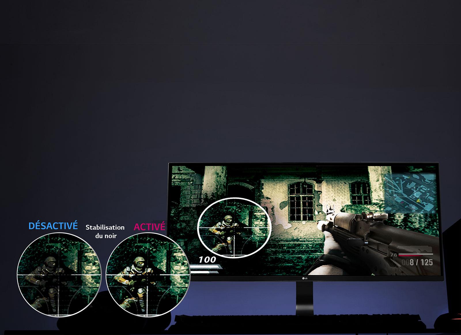 Fonctionnalité Gaming: Black Stabilizer