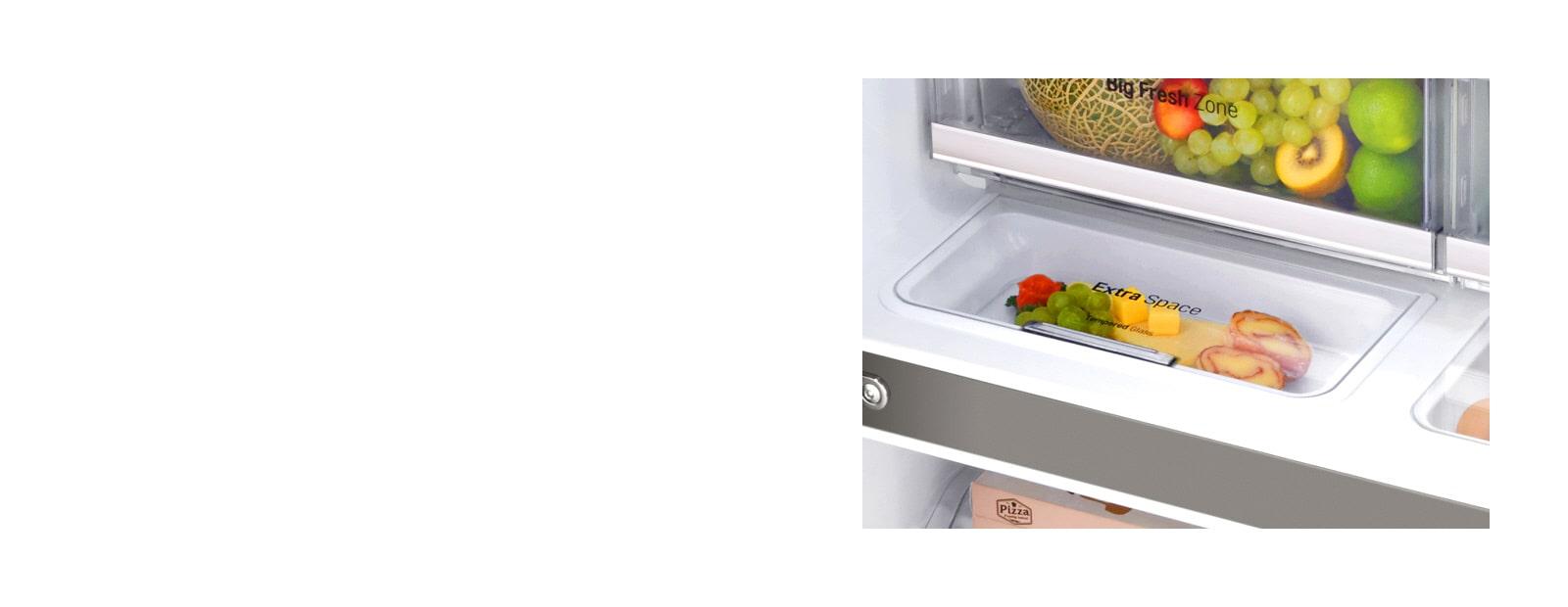 Espaces de stockages additionnels pour les aliments du quotidien