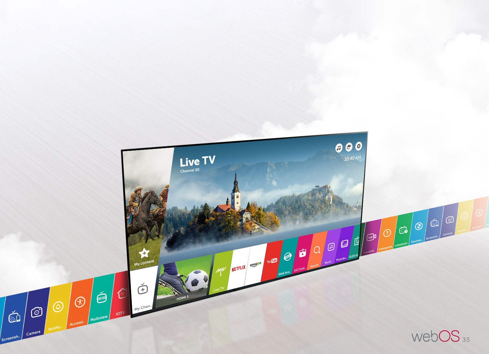 Smart TV WebOS3.5, plus simple et plus rapide
