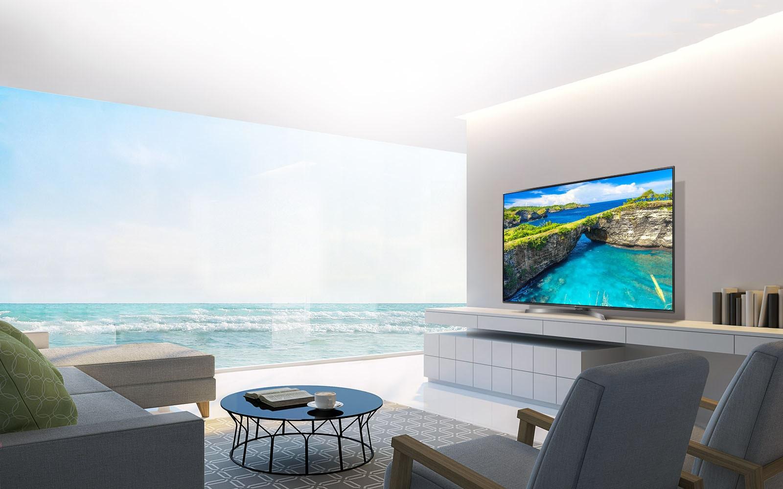 lg tv led 43 pouces 108 cm uhd 4k d couvrez la lg 43uk6750. Black Bedroom Furniture Sets. Home Design Ideas