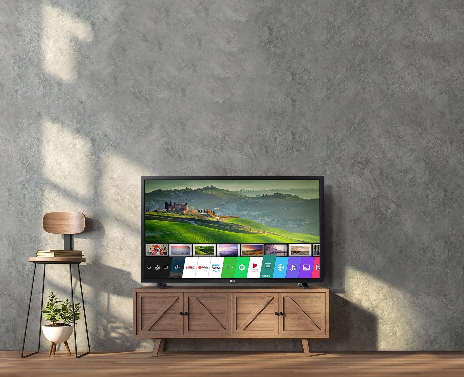 Interface WebOS en action sur un téléviseur