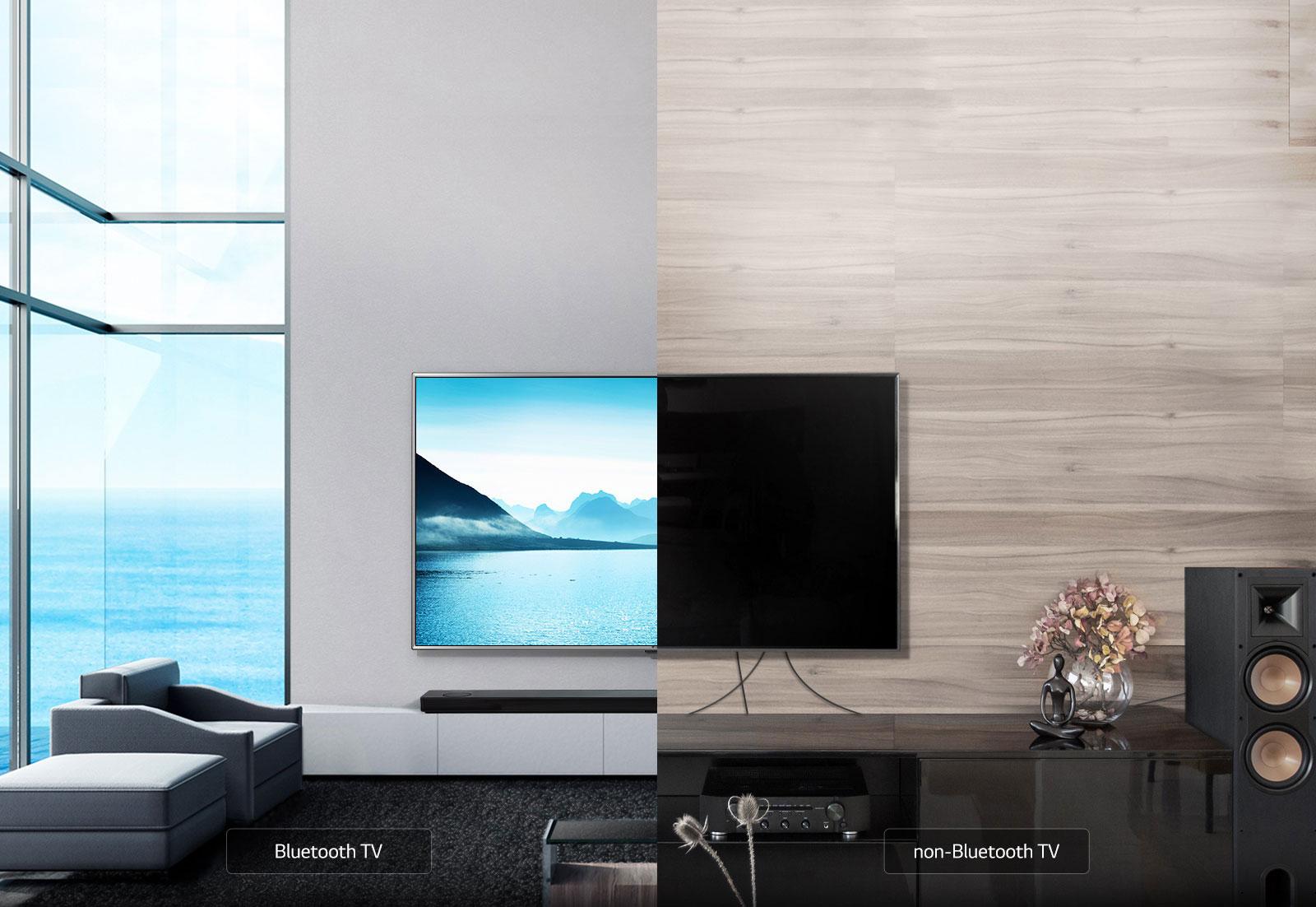 Un téléviseur pratique grâce au sans-fil1