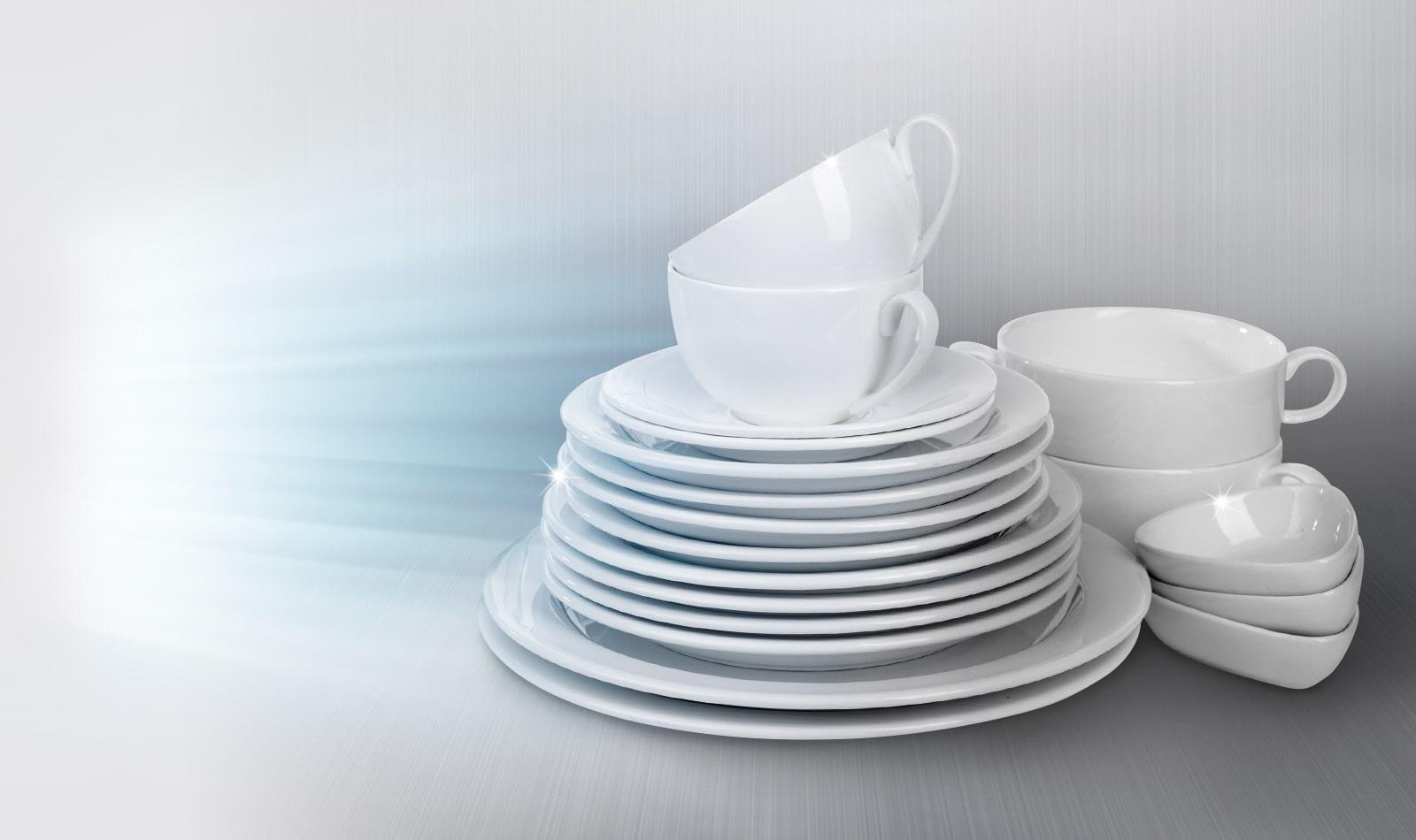 Stérilisation UV pour une vaisselle sans bactéries