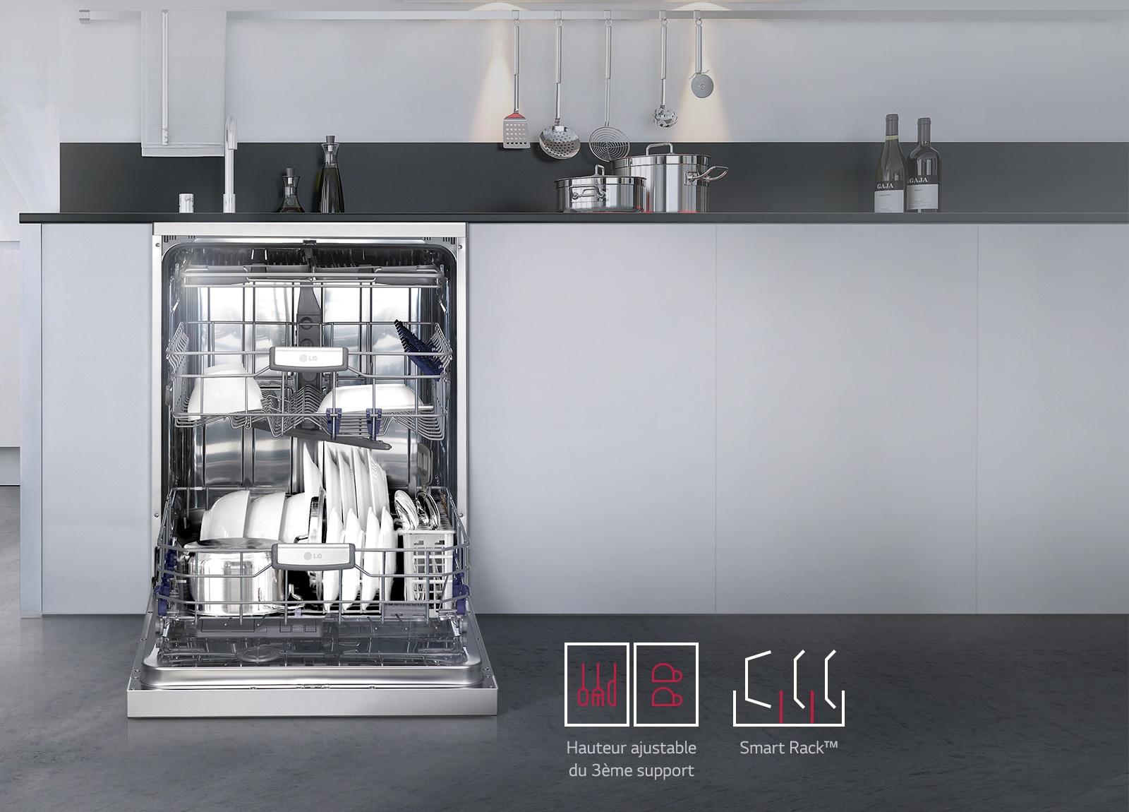 Smart Rack™ Charger Efficacement Plus Vaisselle