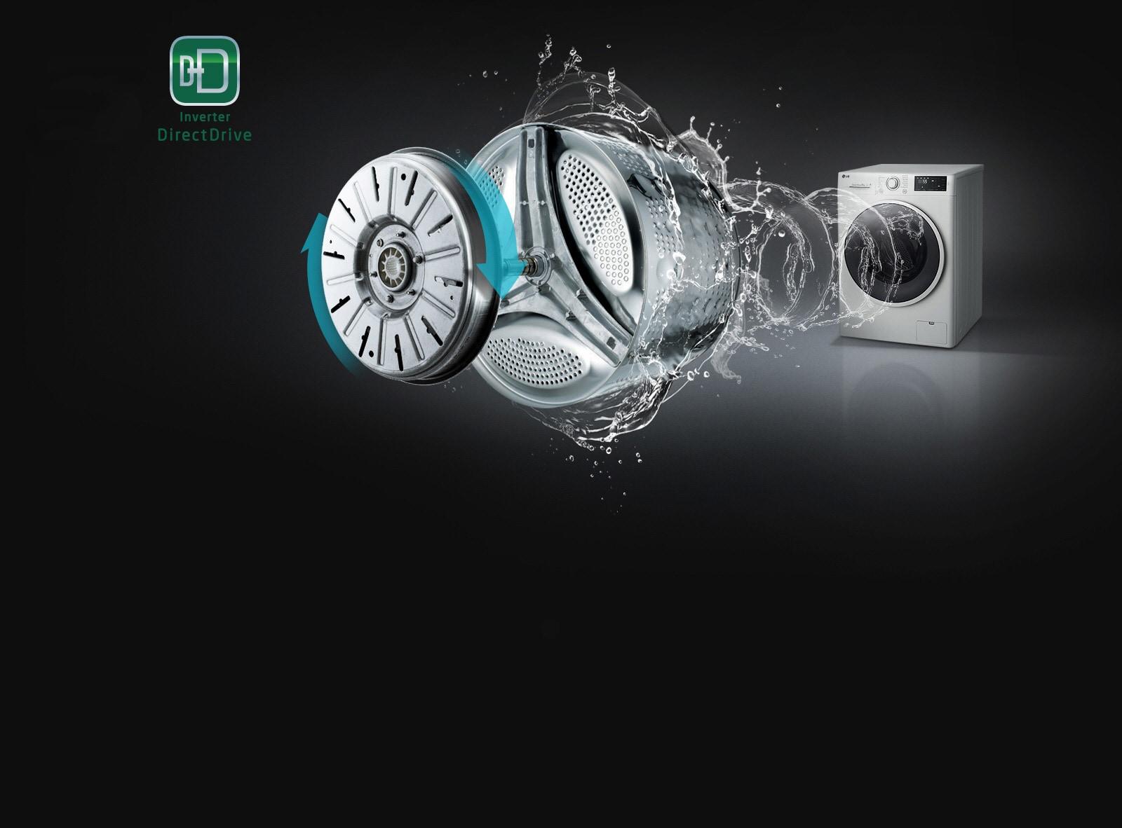 PLUS DE SILENCE, MOINS DE VIBRATIONS grâce au moteur Inverter Direct Drive™