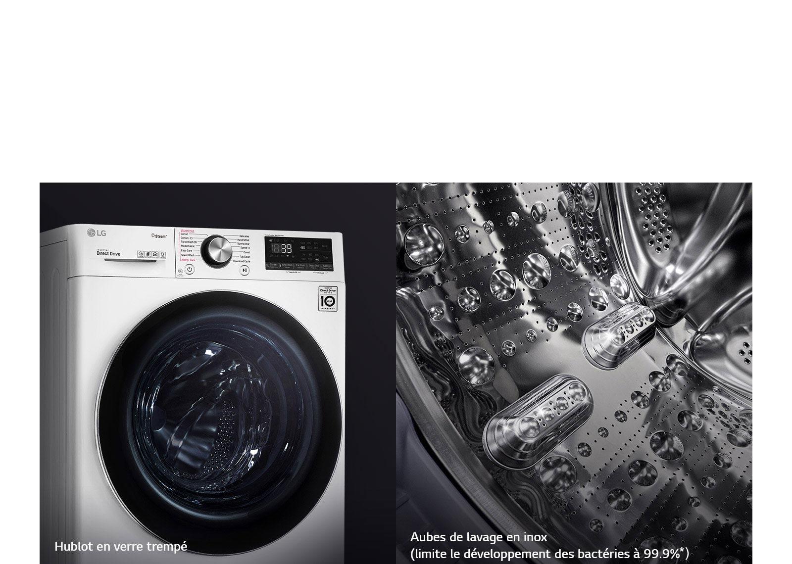 Une conception résistante pour un lave-linge durable