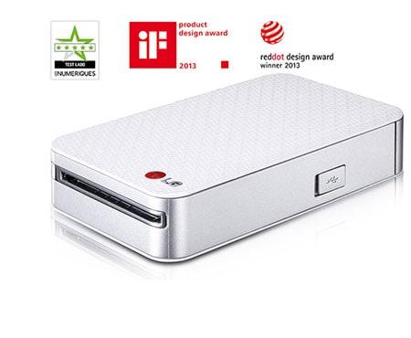 lg pd233 pocket photo imprimante portable pour smartphone android ios iphone et ipod. Black Bedroom Furniture Sets. Home Design Ideas