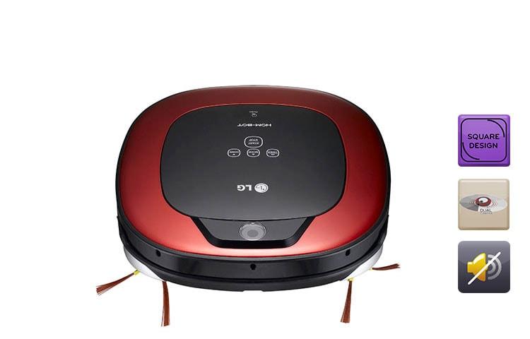 aspirateur robot lg vr1227r d couvrir l 39 aspirateur hom bot lg vr1227r. Black Bedroom Furniture Sets. Home Design Ideas