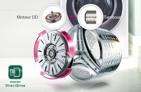 lg f74b80wh lave linge frontal 7kg moteur induction a 30 achat vente lave linge. Black Bedroom Furniture Sets. Home Design Ideas