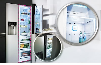 lg r frig rateur am ricain no frost gws6039sc d couvrez le r frig rateur lg gws6039sc. Black Bedroom Furniture Sets. Home Design Ideas
