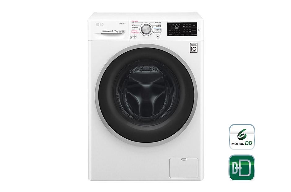 lg lavante s chante steamtm f854j61wrs d couvrez le lg. Black Bedroom Furniture Sets. Home Design Ideas