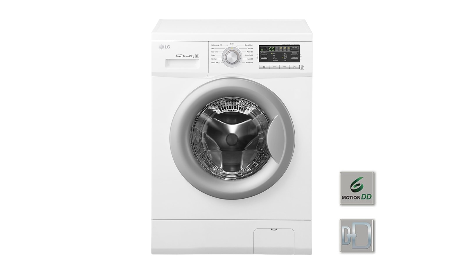 lg lave linge 6 motion direct drive f82731wh d couvrez le lave linge lg f82731wh. Black Bedroom Furniture Sets. Home Design Ideas
