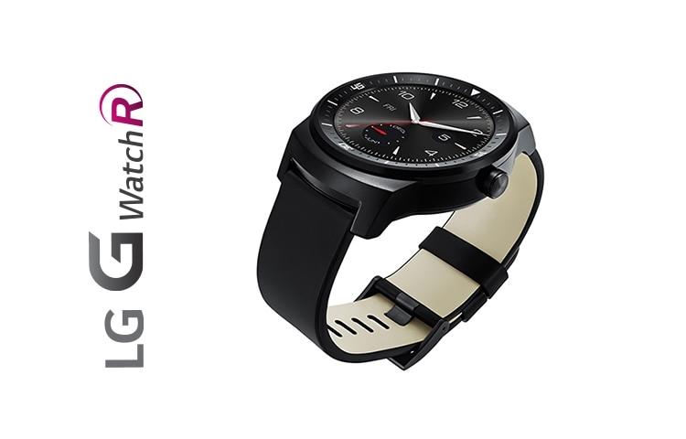 LG G Watch R W110 – Montre connectée avec Android Wear