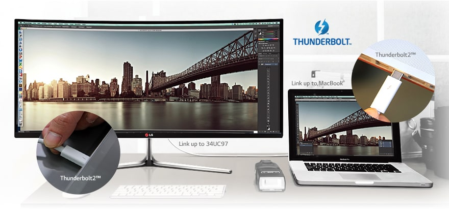 Compatible Mac / Thunderbolt2 ™