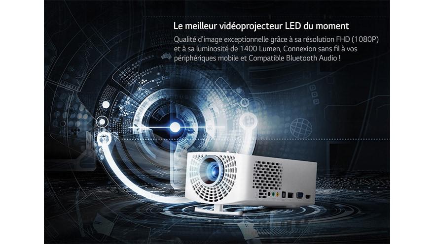 connexion vidéoprojecteur sans fil