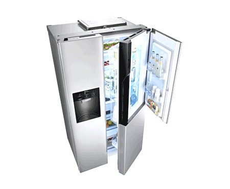 frigo no frost avis accessoire cuisine inox. Black Bedroom Furniture Sets. Home Design Ideas
