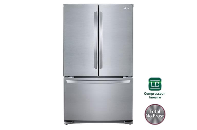 LG Réfrigérateur MultiPortes No Frost GLCPS Découvrez Le - Refrigerateur multi portes