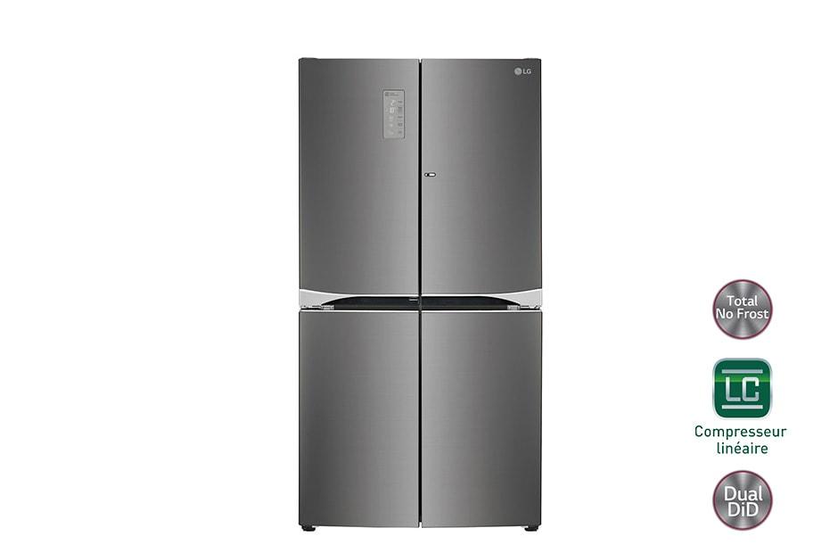 d couvrez notre r frig rateur multi portes lg gld8859bx ainsi que ses caract ristiques parmi. Black Bedroom Furniture Sets. Home Design Ideas