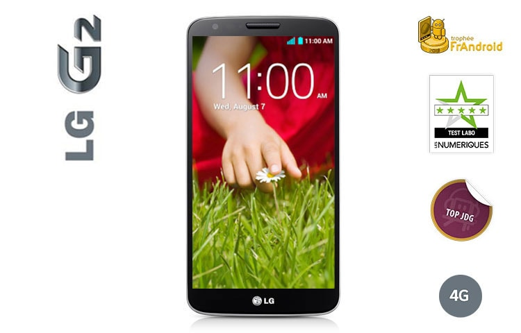 "Smartphones LG G2 | 4G | Écran Full HD IPS 5,2"" (13,2cm) 