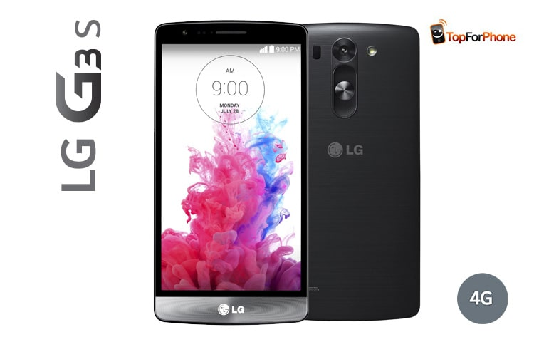 "Smartphones LG G3 S | 4G | Écran HD IPS 5"" (12,6 cm) 