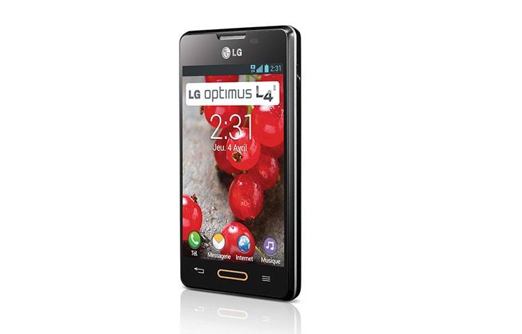LG Optimus L4 II - Le téléphone portable LG Optimus L4 II E440