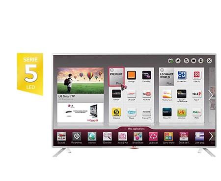 lg tv 32 pouces 80cm led full hd smart tv 3d d couvrez la lg 32lb5820. Black Bedroom Furniture Sets. Home Design Ideas