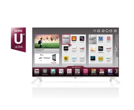 lg tv 40 pouces 100cm led ultra hd 4k smart tv. Black Bedroom Furniture Sets. Home Design Ideas