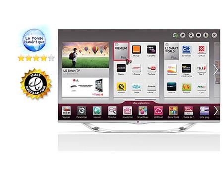 lg tv 42 pouces 106cm led full hd smart tv 3d d couvrez. Black Bedroom Furniture Sets. Home Design Ideas