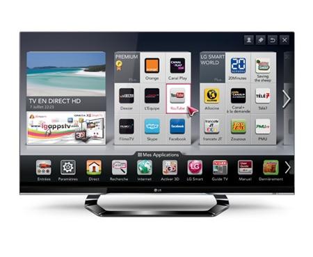 lg tv 42 pouces 107cm edge led smart tv 3d d couvrez la lg 42lm620s. Black Bedroom Furniture Sets. Home Design Ideas