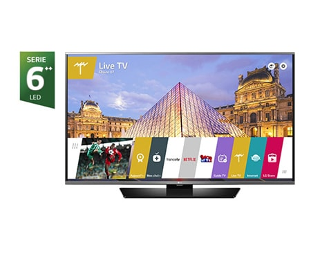 lg tv 43 pouces 108 cm led full hd smart tv d couvrez la lg 43uf630v. Black Bedroom Furniture Sets. Home Design Ideas