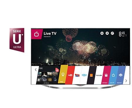 lg tv 49 pouces 123cm led ultra hd 4k smart tv 3d. Black Bedroom Furniture Sets. Home Design Ideas