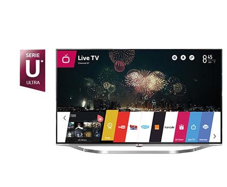 lg tv 65 pouces 164cm led ultra hd 4k smart tv 3d d couvrez la lg 65ub950v. Black Bedroom Furniture Sets. Home Design Ideas