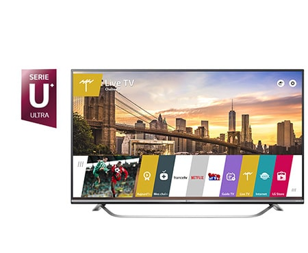 lg tv 65 pouces 164 cm led ultra hd 4k d couvrez la lg 65uf778v. Black Bedroom Furniture Sets. Home Design Ideas