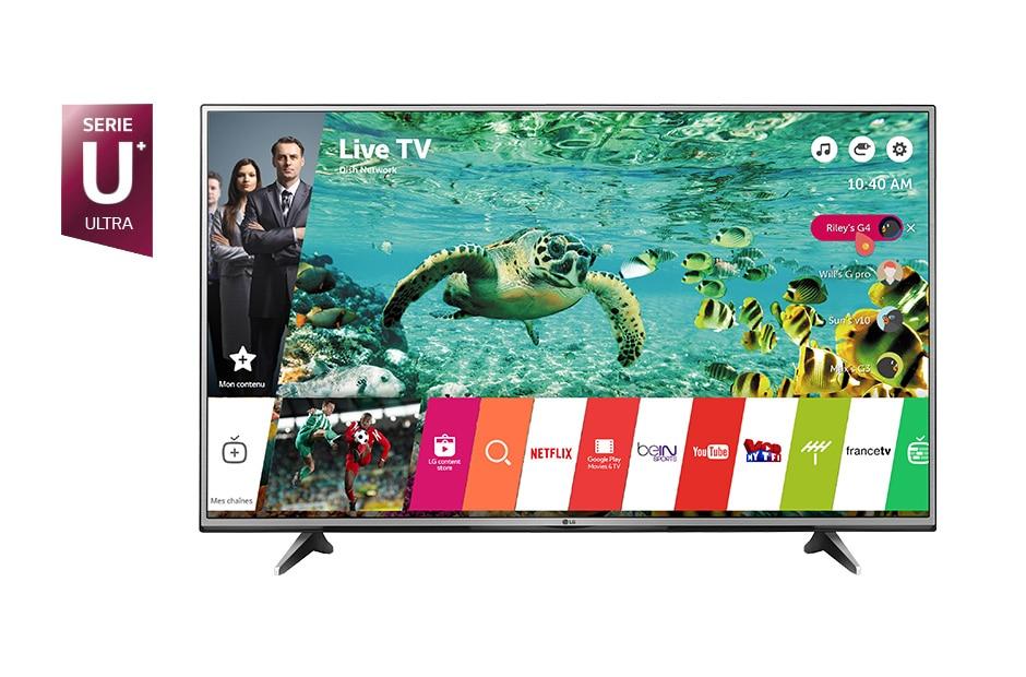 lg tv 55 pouces 139 cm led uhd 4k smart tv d couvrez la lg 65uh615v. Black Bedroom Furniture Sets. Home Design Ideas