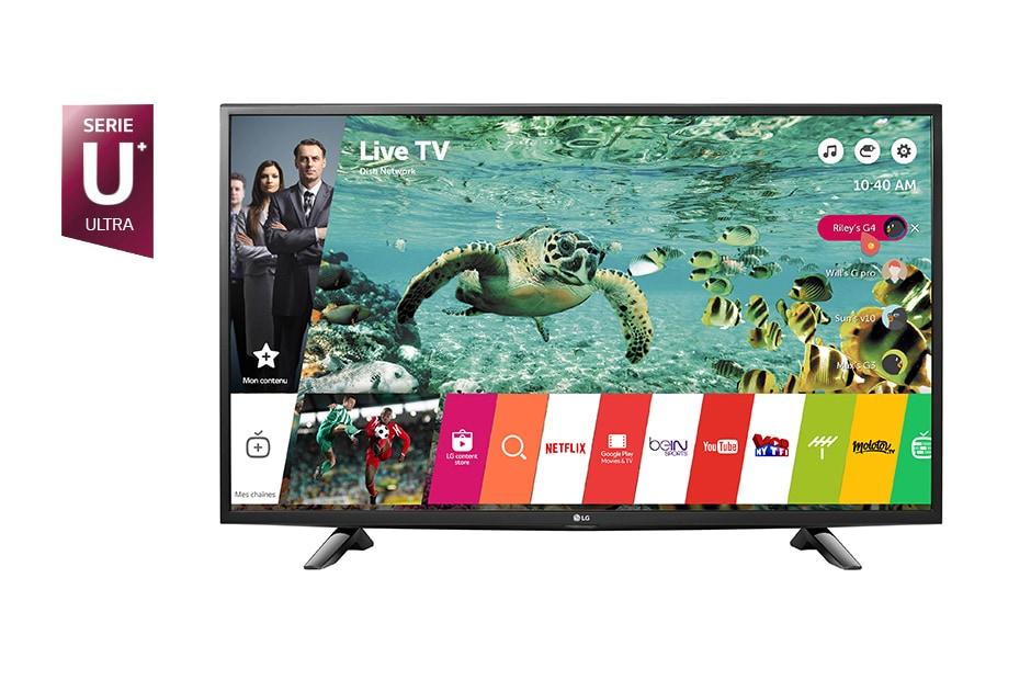 lg tv 43 pouces 108 cm led uhd 4k d couvrez la lg 43uh603. Black Bedroom Furniture Sets. Home Design Ideas