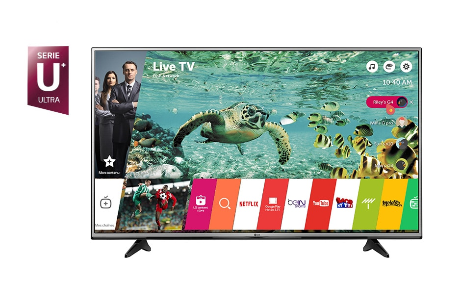 lg tv 55 pouces 139 cm led uhd 4k d couvrez la lg 55uh603. Black Bedroom Furniture Sets. Home Design Ideas