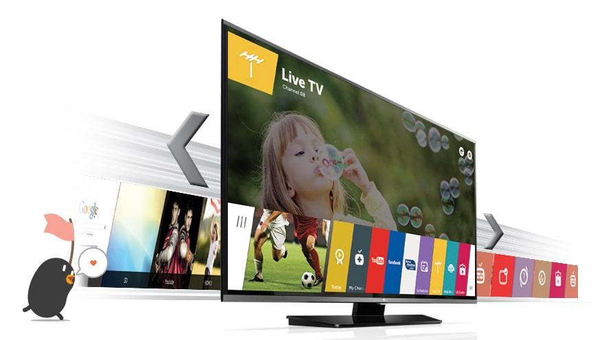 Smart TV Web OS 2.0 : la TV réinventée