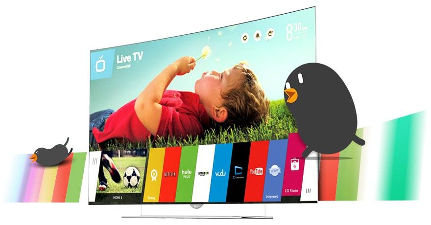 Smart TV WebOS 2.0