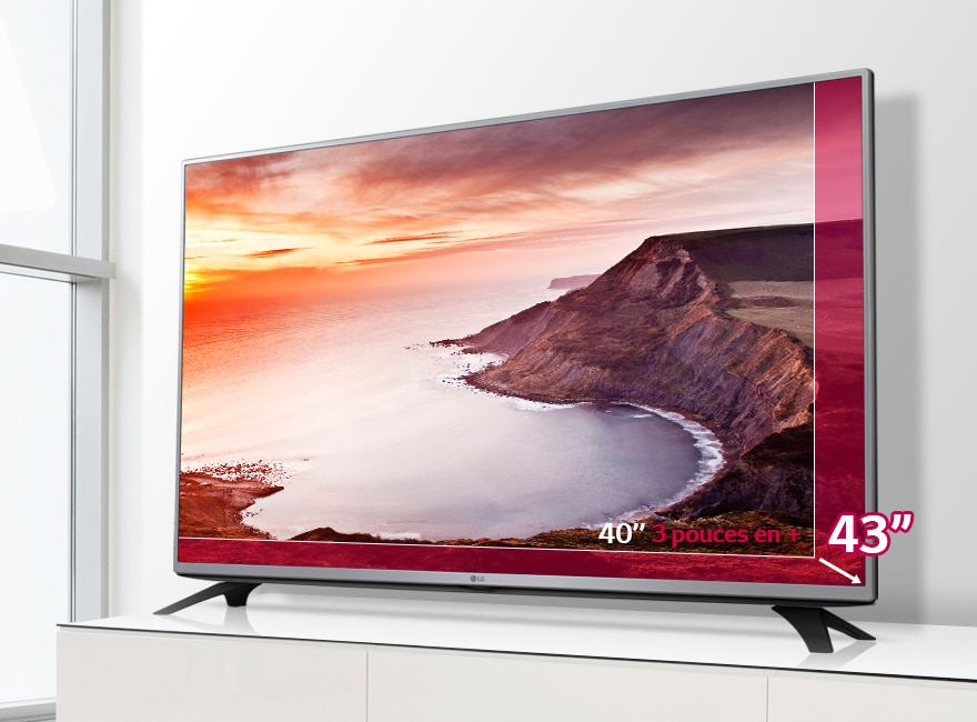 lg tv 43 pouces 108 cm led full hd d couvrez la lg 43lf5400. Black Bedroom Furniture Sets. Home Design Ideas