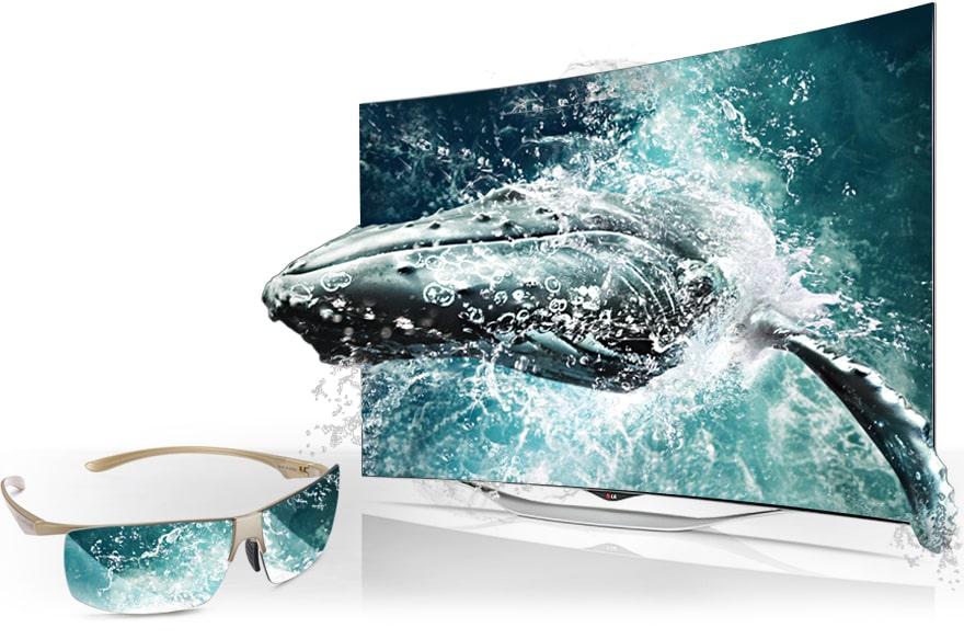 lg tv 55 pouces 138 cm oled full hd incurv smart tv 3d d couvrez la lg 55ec930v. Black Bedroom Furniture Sets. Home Design Ideas