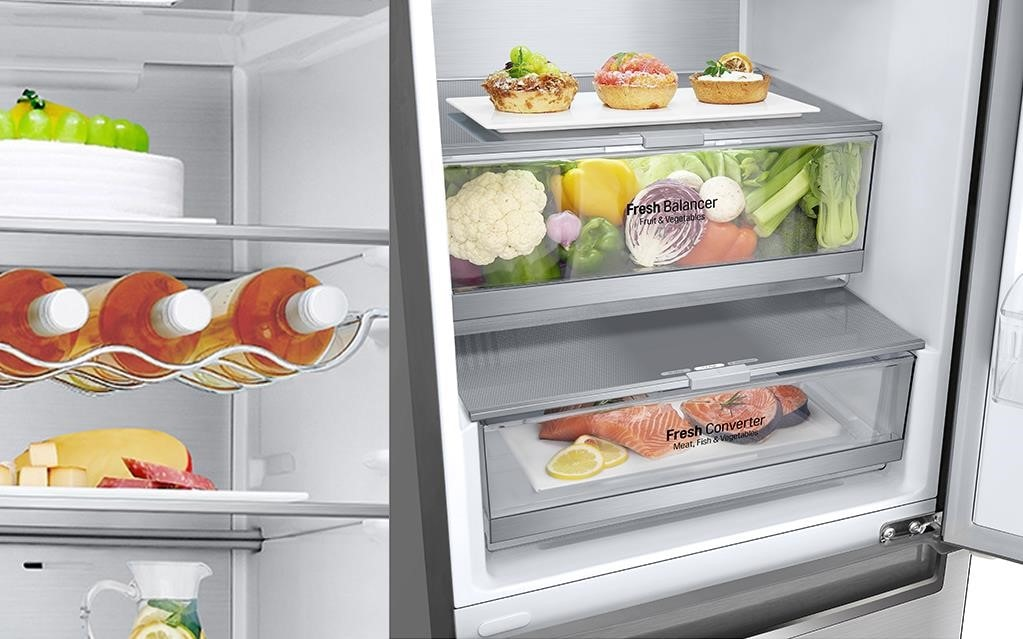 You can organise your fridge so all of your food is stored at the correct temperature - all with LG | More at LG MAGAZINE