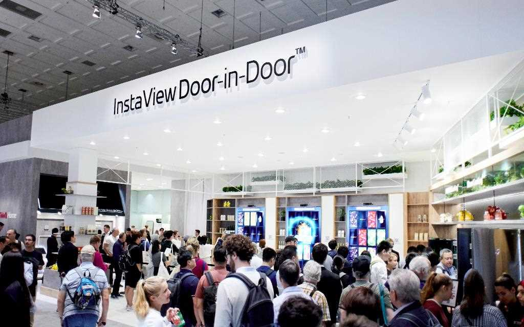 The LG InstaView Door-in-Door was on show at IFA 2019 | More at LG MAGAZINE