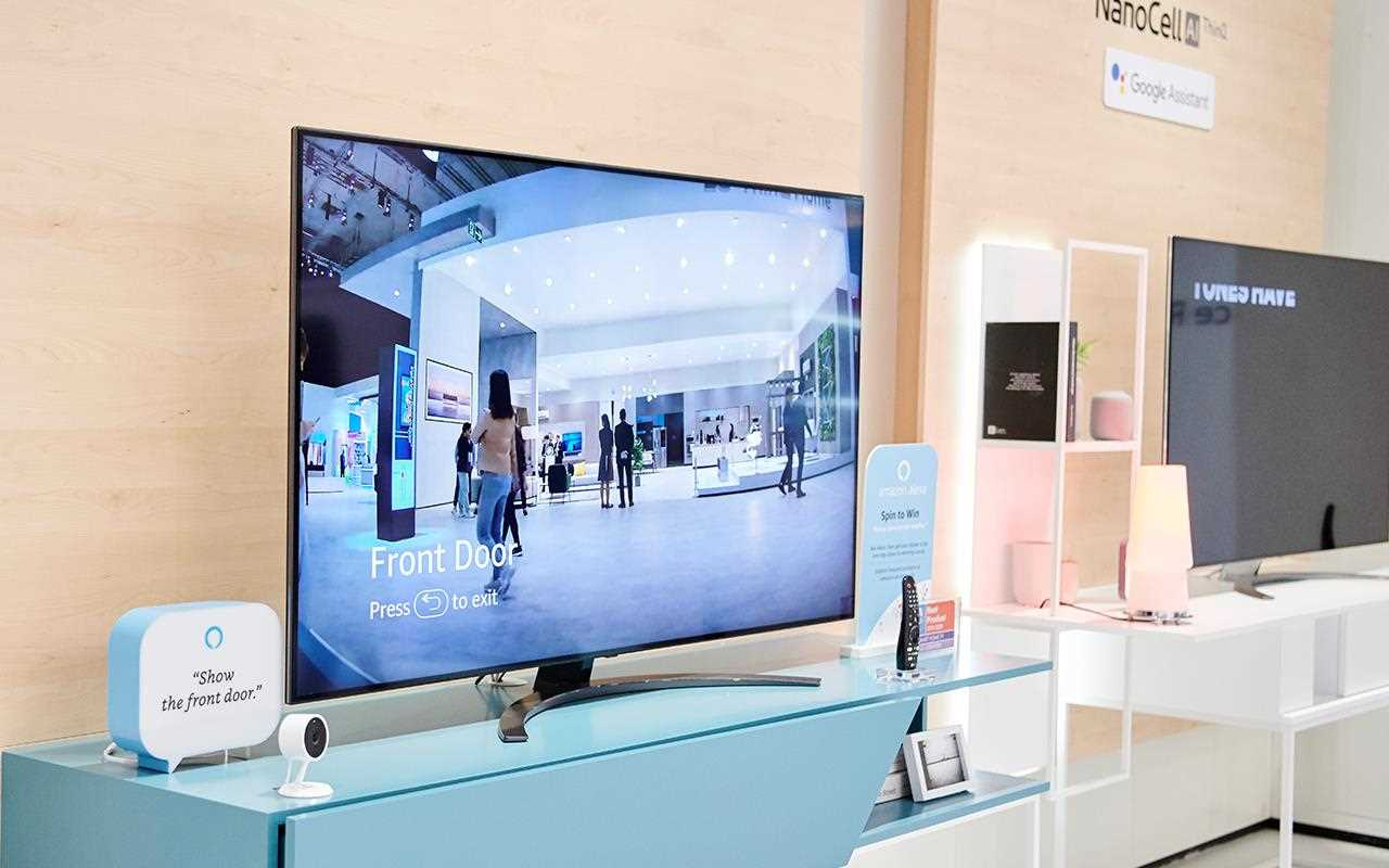 The OLED AI TV was on display at IFA 2019, with smart appliances working together to make your dream home more efficient and innovative | More at LG MAGAZINE