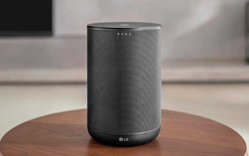 A front view of LG audio speaker PK7