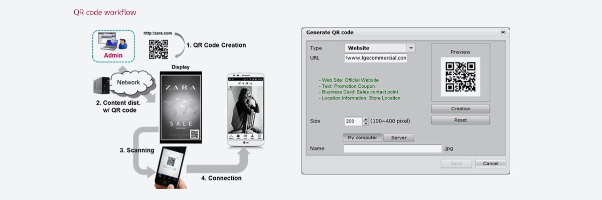 Включая дополнительные уникальные функции в лицензионной версии: инструмент создания QR-кода