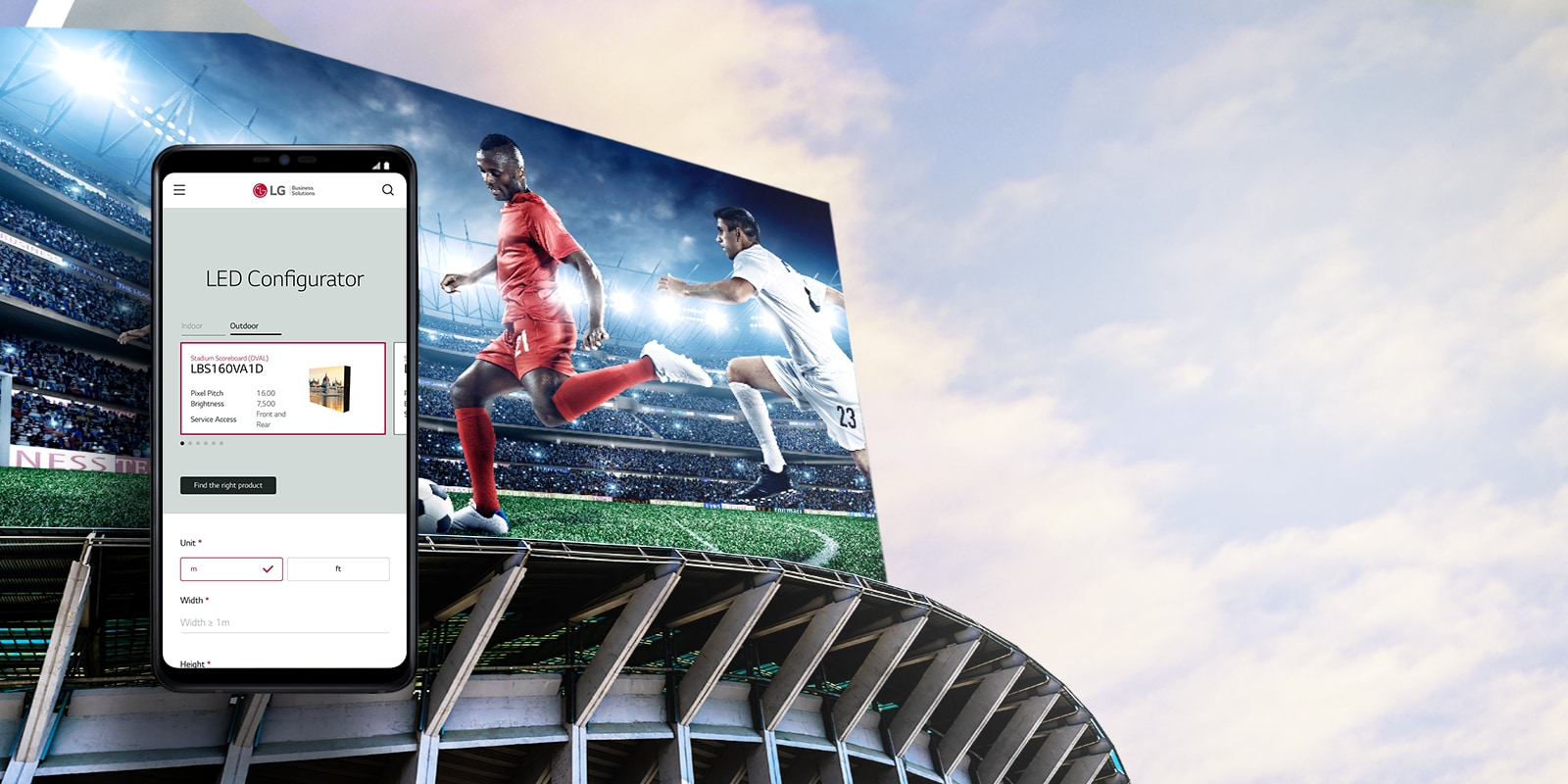 LED Signage | Products | Information Display | Business | LG Global